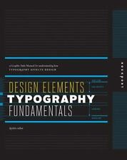 Design Elements, Typography Fundamentals: A Graphic Style Manual for Understandi