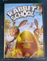 Rabbit School: The Guardians of the Golden Eggs. DVD. Brand New.
