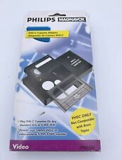 Philips Magnavox Vhs-C Video Cassette Adapter Pm61300 Used With Box. A6