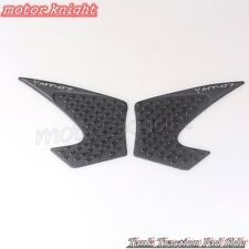 Tank Traction Side Pad Gas Fuel Knee Grip Decal For Yamaha MT-07 2013-2016 14 15