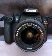 CANON EOS REBEL T6 - BODY & LENS WITH EXTRAS