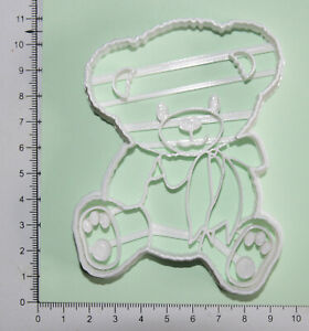 Teddy Bear  Cookie or fondant  Cutter 3d printed