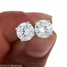 EARRINGS MENS LOOK A LOT BIEN DE ORO LAMINATE AND STONE ZIRCONIUM CZ