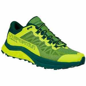 La Sportiva Karacal scarpa mountain trail running giallo neon jungle