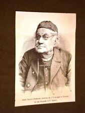 Abate Jacopo Ferrazzi Dantista Morto il 2 maggio 1887 a Bassano