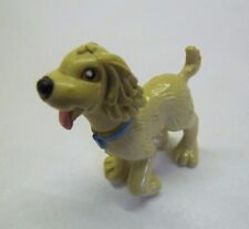 FISHER PRICE Sweet Streets Dollhouse TAN PUPPY DOG PET for Pet Shop Salon Doll