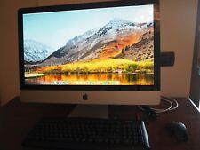"Apple iMac 27"" 2TB Intel Core Quad i5 2,8 GHz 8GB RAM DDR3 ATI Radeon 1024 2010"