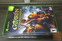 Goblin Commander: Unleash the Horde (Xbox 2003) FACTORY SEALED! - RARE! - EX!