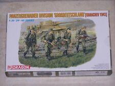 """Figurines DRAGON 1/35ème PANZERGRENADIER DIVISION """"GROBDEUTSCHLAND"""""""