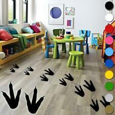 12x Dinosaur Footprints Wall Sticker Vinyl Kids Boys Girls Bedroom Floor Wall