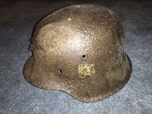 WW2 Original M42 German Helmet.
