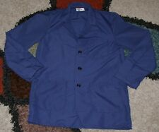 """Best Medical Woman L/S Staff Lab Coat 3 pocket Navy 30"""" Length Sizes 2X to 6X"""
