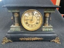 Antique Waterbury Clock Co. - Mantle Clock - Runs Smooth - Chime Works