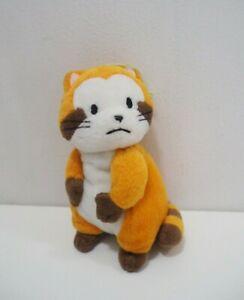 "Rascal the Raccoon Banpresto 2004 Plush 5"" Toy Doll Japan 31908"
