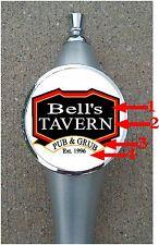 Custom Personalized  Beer Tap Handle knob tapper Kegerator Man Cave