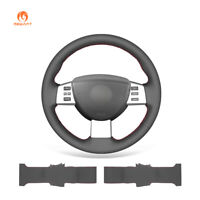 MEWANT PU Leather Steering Wheel Cover Wrap for Altima 2005 2006 Maxima Quest