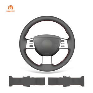 MEWANT PU Leather Car Steering Wheel Cover for Nissan Altima Maxima Quest Murano