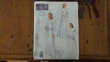 Vogue Vintage Model Pattern 2384, Dessin 1944 Design, Wedding Gown Sz 12-14-16