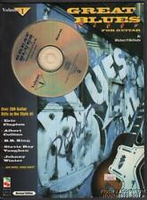 1994 Michael Wolfsohn Great Blues Riffs for Guitar Vol 1 Instructional Manual
