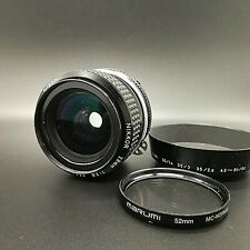 [ Exc+3 ] Nikon Nikkor AI 28mm f/2.8 35mm SLR MF Lens for F mount from JAPAN