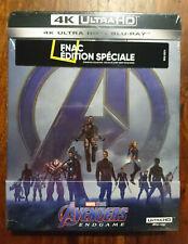 Avengers endgame 4K ultra HD steelbook edition FNAC NEUF SOUS BLISTER