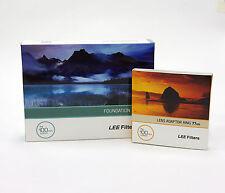 Lee Filters titular de la Fundación Kit + 77mm estándar Anillo Adaptador. nuevo