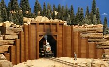 G SCALE TUNNEL PORTAL BUILDING FOR USE w LGB ACCUCRAFT F GAUGE RR TRACK & LOCOS
