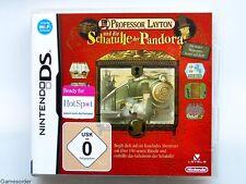 PROFESSOR LAYTON UND DIE SCHATULLE DER PANDORA ~Nintendo DS / Dsi / 3 Ds Spiel~