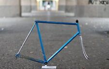 Somec Columbus Rennrad / 58cm/ Vinatge Frame Fork Chrome Blue