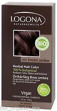 LOGONA Organic Brown Umber Herbal Hair Colour 100g