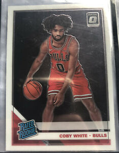 2019-2020 Panini Optic Coby White Base Rated Rookie RC Bulls #180