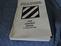 """U S Army """"Rock of the Marne"""" 3D Infantry Division: The Leader Book (2006)"""