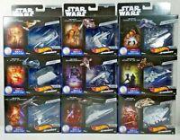 Hot Wheels Star Wars Starships Commemorative Series Build Death Star You Choose