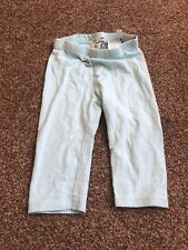 H&m Pastel Green Leggings Trousers Baby Girls 18-24 Months Clothes
