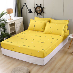 Single Bed Cover Aloe Cotton Simmons Non-slip and Dustproof Mattress