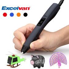 3D Print Pen Stereoskopisch Druckstift Drucker Stift PLA/ABS Filament Printer