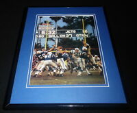 Johnny Unitas Super Bowl III Framed 11x14 Photo Display Colts