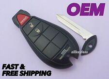 OEM CHRYSLER FOBIK keyless entry remote fob transmitter beeper 05026100 +NEW KEY