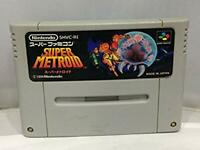 Super Famicom video game SUPER METROID  japan SFC F/S