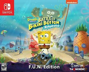 Spongebob Squarepants Battle for Bikini Bottom Rehydrated FUN Edition - NEW