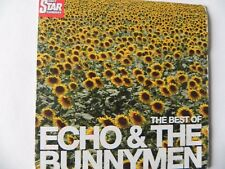 THE BEST OF ECHO & THE BUNNYMEN PROMO CD ALBUM