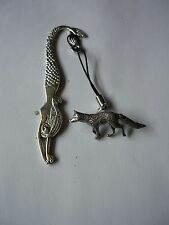 Fox codeppa23 Made From Fine English Pewter On A MERMAID Bookmark