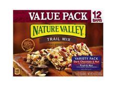 Nature Valley Crunchy Granola Breakfast Bars 12 Travel Snack Dark Chocolate Nut