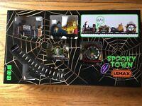 Lemax Crazy Clown Express Spooky Town Railroad Train Set -Halloween
