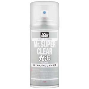 Mr. Hobby Mr Super Clear Gloss Spray - 170ml