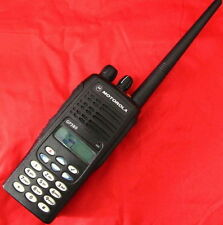 255 Channel Motorola GP380 VHF 136-174 Mhz 5W 2Way Radio + Accessories