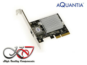 Carte Réseau PCIE - 10 GB - 1 PORTS RJ45 CHIPSET AQUANTIA AQTION AQC107-81-C