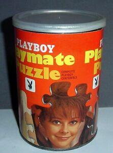 1969 Playboy Playmate POTM Can Puzzle AP103 LORRIE MENCONI Feb 1969 Complete GC