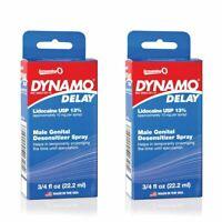 2 PK Screaming O Dynamo Delay Male Genital Desensitizer Prolonging Spray .75 oz