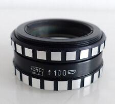 Achromat Spindler & Hoyer S&H f100 f=100mm Lens Objektiv